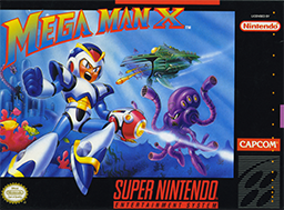Mega Man X Coverart